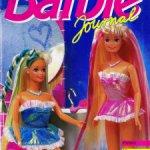 Альбомы для наклеек Panini, каталоги Barbie из 90-х