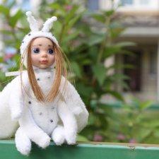 Белый мотылек тедди долл