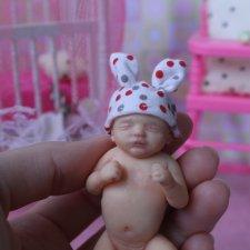 Мой младенец. Авторская кукла ручной работы