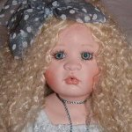 Valentine*s Day! Моя маленькая  коллекция кукол от Linda Valentino Michel