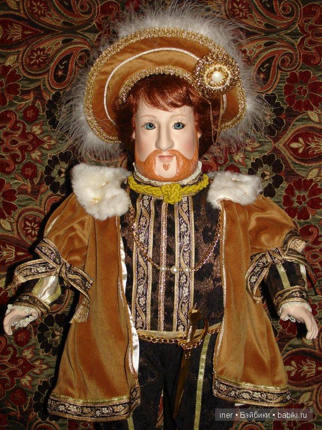 "Кукла ""Король Генрих VIII"""