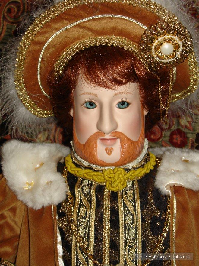 """""""Король Генрих VIII"""", крупный план."""