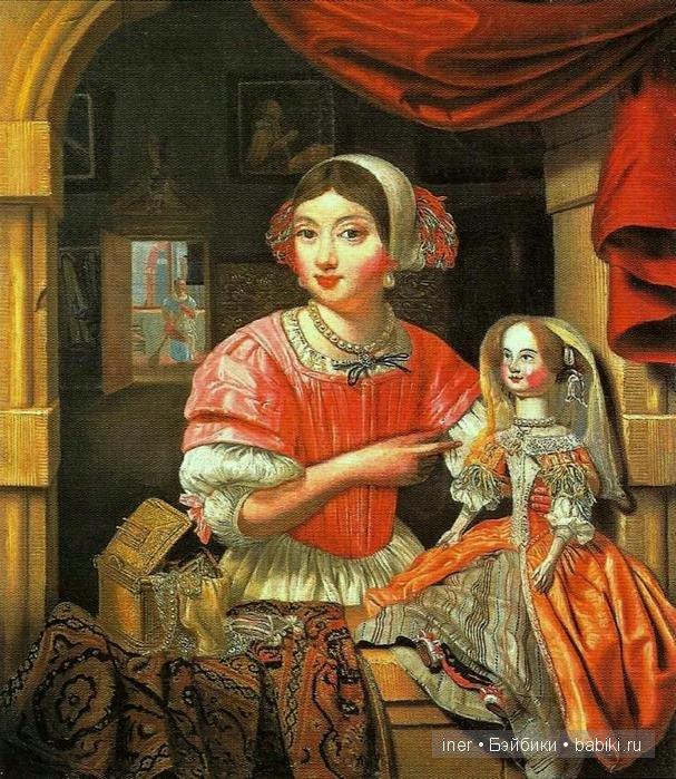 """Кукла """"Пандора"""" - модель"""