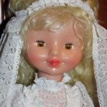 Кукла СССР.  Невеста.