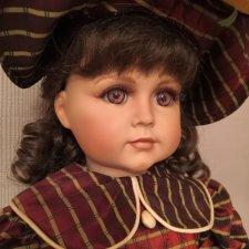 Кукла Мэлани.  Реплика Simon & Halbig Mold 117. Винил.