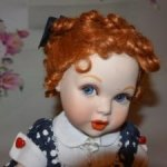 "Portrait Baby от Franklin Mint "" I Love Lucy "" Я люблю Люсис"