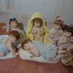 6 кукол - Фарфоровые мини версии кукол Titus Tomescu Титус Томеску и Ashton Drake