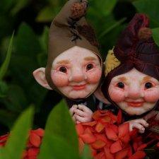 Эльфы-близнецы от DreamHighStudio