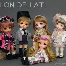 Релиз Salon De Lati в формате Lati Yellow от Latidoll