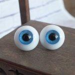 Стеклянные глаза HandGlassCraft размера 10мм и 16мм