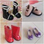 Обувь разного формата и разных размеров (туфли, босоножки на каблуках, ботинки, сапожки)