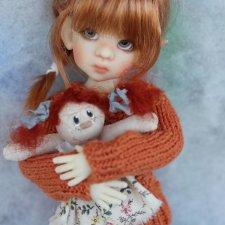 Преордер на тини Талиссу эльфа (Tiny Talyssa Elf) в файре от Kaye Wiggs