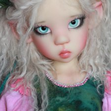 Шок цена на май - 35%! Mikki fair Elf, мейкап+блашинг от Kaye Wiggs, аутфит Antique Lilac.