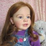 Мэри! Мэри – cherry, моя любимая вишенка. Кукла реборн  Марины Зыбиной