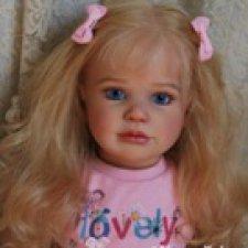 Марта... Мой нежный ангел. Куклы Реборн Марины Зыбиной