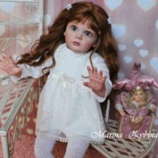 Я назвала ее Ольгой…  Куклы реборн Марины Зыбиной