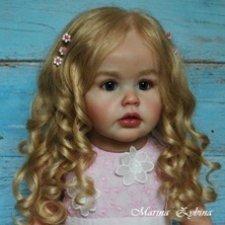 Анна-Мария, мой белокурый ангел. Куклы реборн Марины Зыбиной