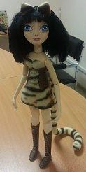 авторская шарнирная кукла