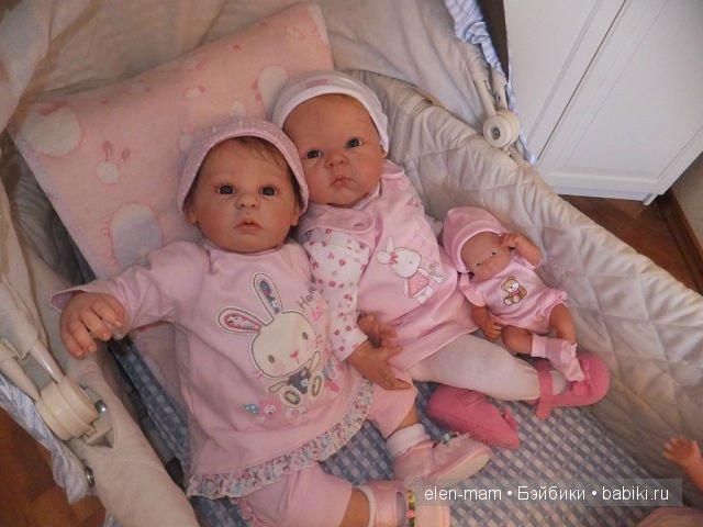 сестрички-реборняшки 4