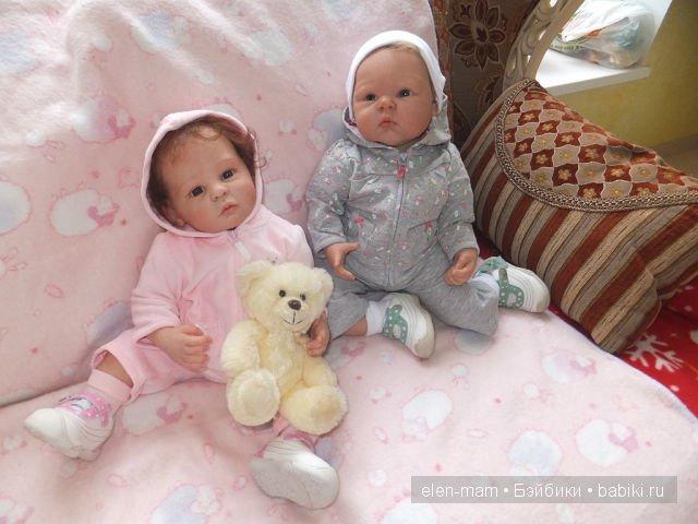 сестрички-реборняшки 3
