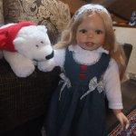 Улыбчивое Счастье с ямочками на щёчках. Кукла от автора Габи Жак, Gaby Jagues