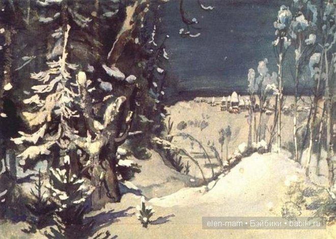 пролог, лес дремлет