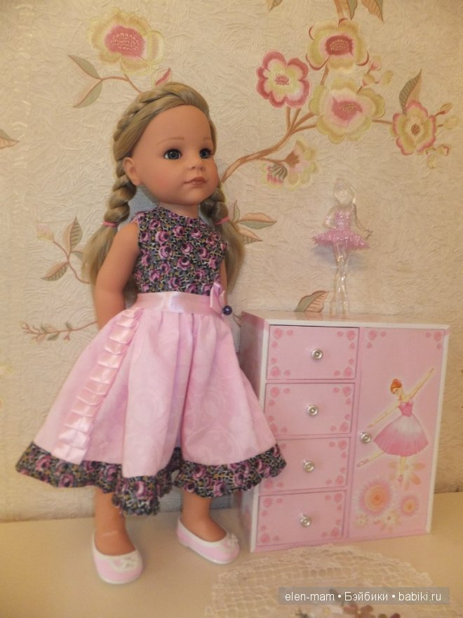 Розовое платье 12