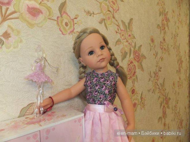 Розовое платье 10