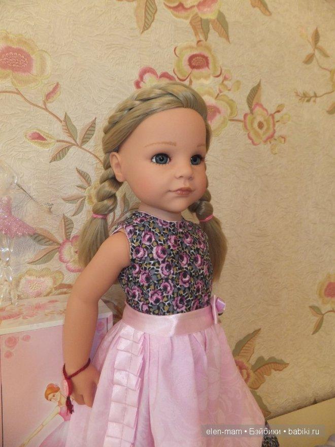 Розовое платье 6