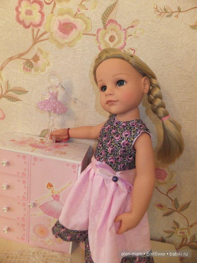 Розовое платье 7
