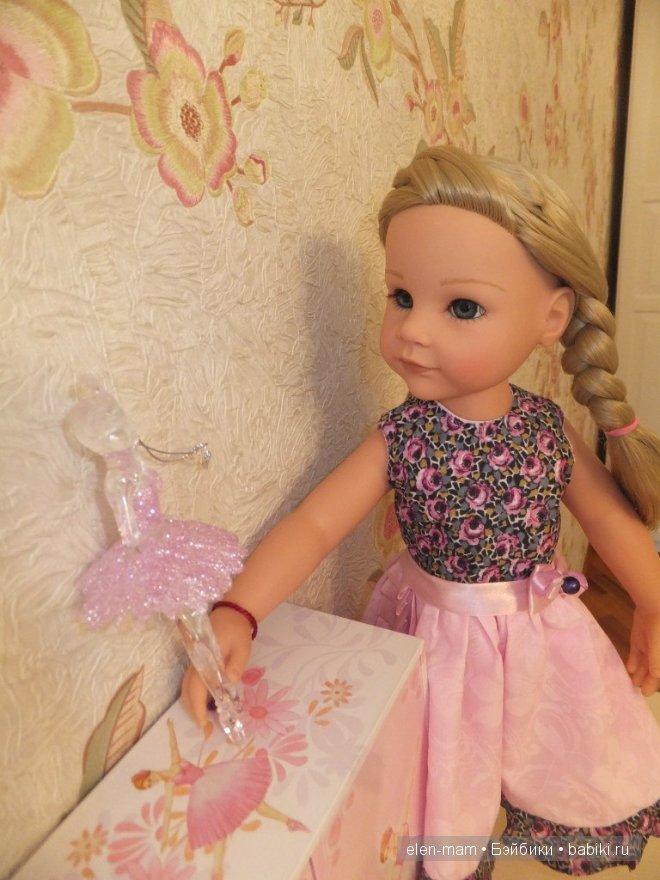 Розовое платье 9