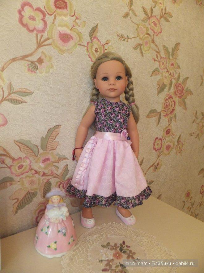 Розовое платье 3