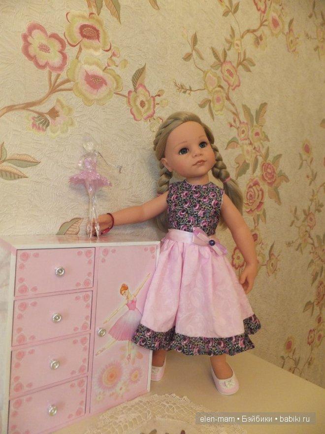 Розовое платье 11