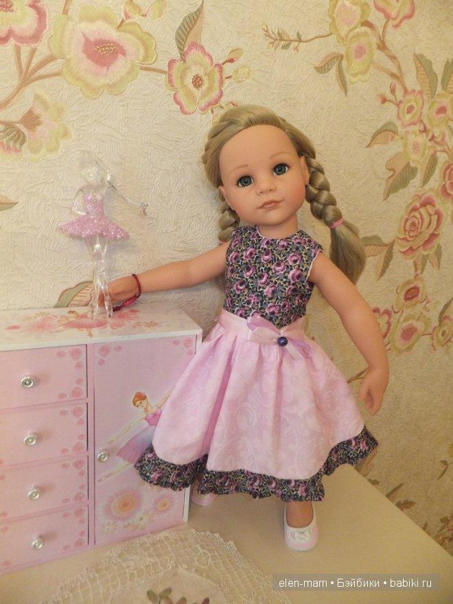 Розовое платье 2