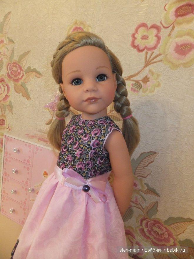 Розовое платье 15
