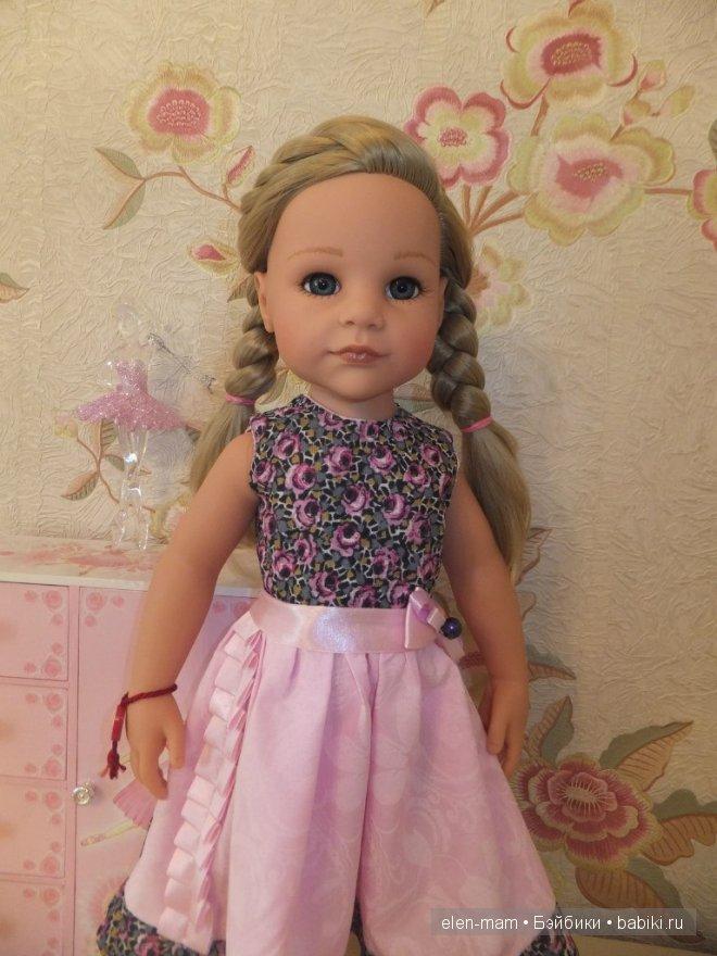 Розовое платье 5