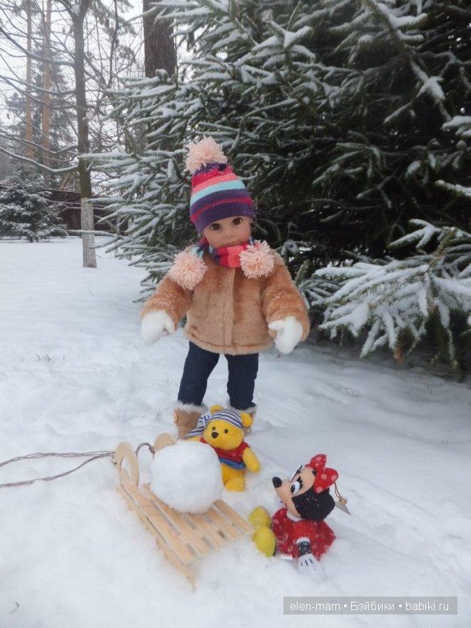 шар для снеговика 3