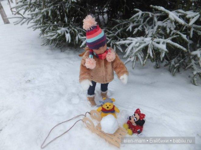 шар для снеговика 6