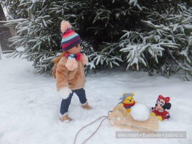 шар для снеговика 7