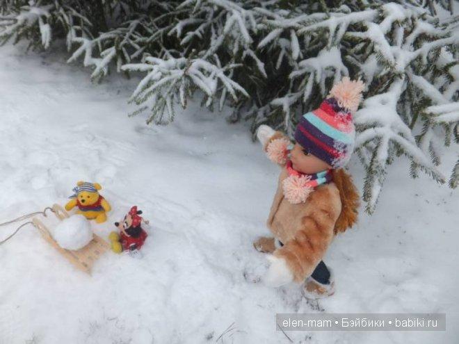 шар для снеговика 2