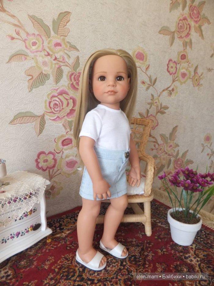 Джинсовая юбка 2