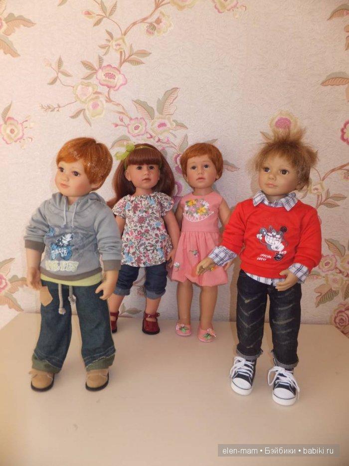 Перестановка кукол