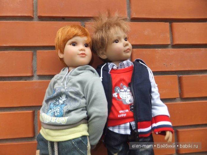 Мальчики на улице, портрет 3