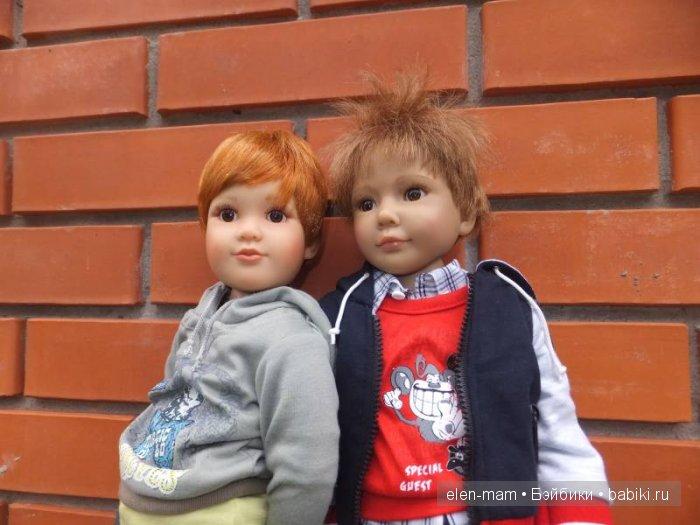 Мальчики на улице, портрет 2