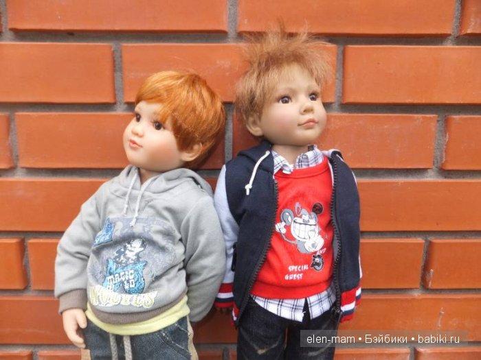 Мальчики на улице, портрет