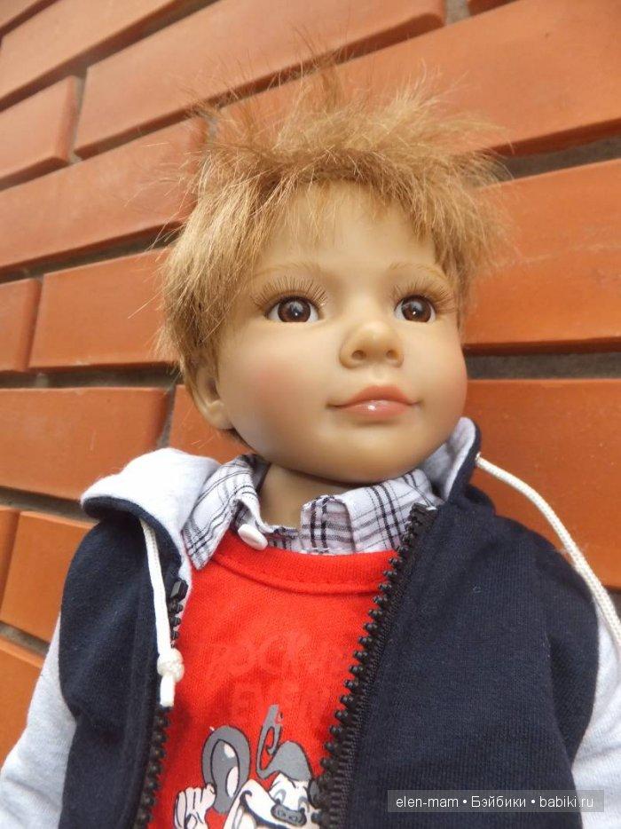 Роберт на улице 2, портрет