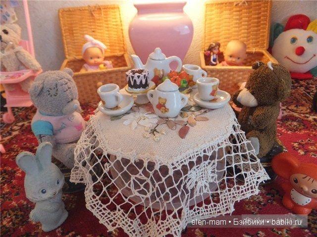 Кукольная комнатка из ничего..
