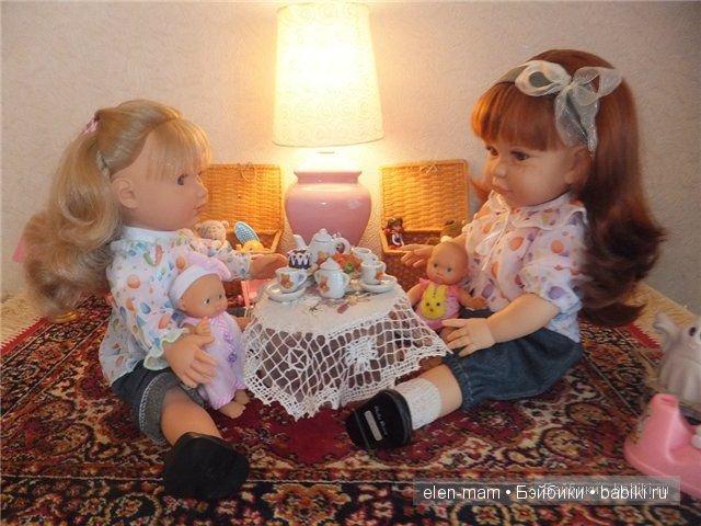 Куклы играют, испаночки