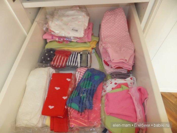 Одежда в шкафу 4