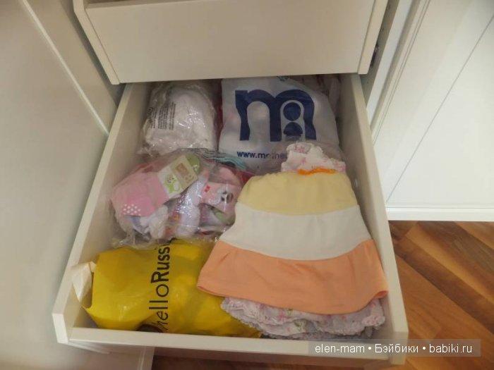 Одежда в шкафу 5
